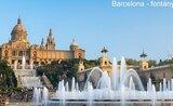 Barcelona, Girona, Montserat S Pobytem U Moře