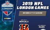 Vstupenka na NFL v Londýně Cincinatti Bengals - Los Angeles Rams