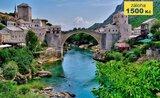 Chorvatsko s výletem do Bosny