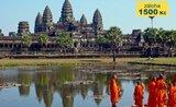 KAMBODŽA (Angkor)-THAJSKO (Bangkok,Koh Chang)-pobytově poznávací zájezd-2019!