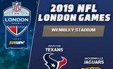 Vstupenka na NFL v Londýně Houston Texans - Jacksonville Jaguars