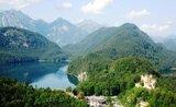 Bavorské královské zámky a Bodamské jezero