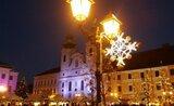Budapěšť – vánoční trhy na Vörosmártyho náměstí