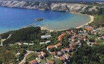 Pavilony San Marino Plaža a Veli Mel - Lopar, Chorvatsko