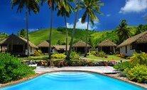 Tamanu Beach - Aitutaki, Cookovy ostrovy