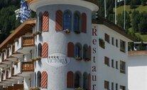 Hotel Turmhotel Victoria Davos - Švýcarské Alpy, Švýcarsko
