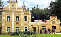 Lázně Mšené Budova Říp - Střední Čechy, Česká republika