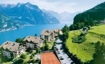Hotel A Apartmány Bellevue - Švýcarské Alpy, Švýcarsko