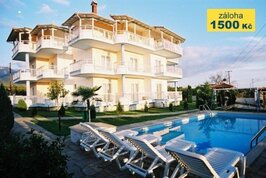 Aparthotel Villa Kolona - Řecko, Leptokaria,