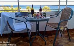Balkon, výhleb na moře