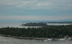 pohled od hotelu ,k moři 5 minut