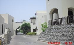 Ulice kolem bungalovů