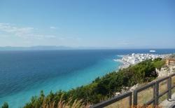 Soutok Středozemního a Egejského moře-město Rodos