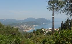 Výhled z Chlomosu