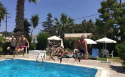 bazen v Gele Korfu SIDARI