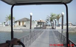 Cesta na pláž elektro-autíčkem