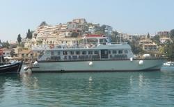 Zastávka na lodním výletě