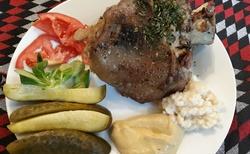 Hotelová restaurace - podávaná jídla