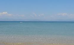 Moře - foceno z pláže