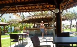 bar na zahradě