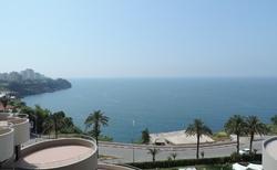 Hotel Cender - pohled z hotelu