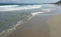 pláž středozemního moře