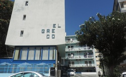 Hotel El Greco zvenku