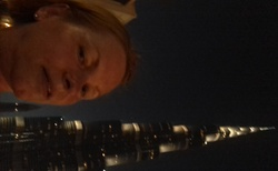 Výhled  z  Burj Khalifa