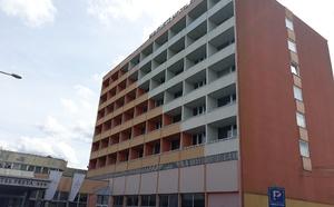 Pohled na hotel