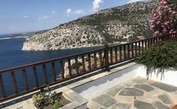 Klášter Archangelos - na terase