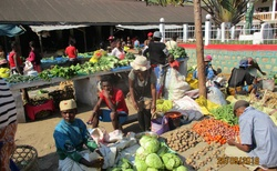 Ranomafana - tržiště