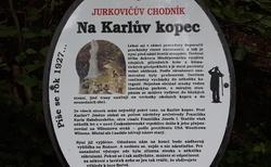 Cesta k Jurkovičově rozhledně