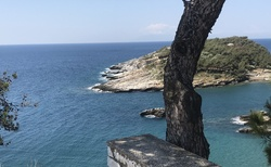 Nádherně modré moře