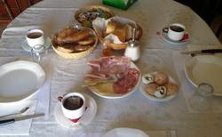 Poslední snídaně v Ramo Rosso