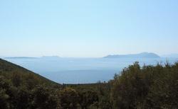 Monastery Agios Nikolaos Iras na mysu Ducato - okolí