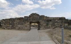 Vstup do Pamukkale