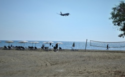 Pri Makenzy Beach letisko...