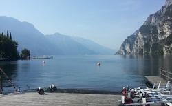 Riva del Garda - u jezera
