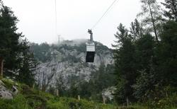 Ledová jeskyně Eisriesenwelt - lanovka