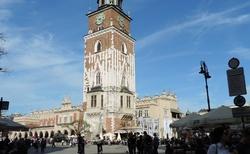 Krakov - Radniční věž