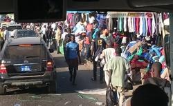 Městské tržiště v Dakaru