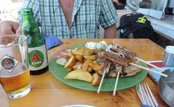 Rhodos - Koupání a oběd na špici