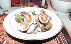 Ifaty - Restaurace Chez Daniel Piroguier - zákusek po večeři