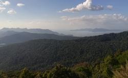 výhled z hory Raja