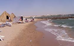 pláž hotelu Jasmine