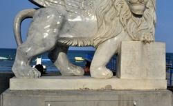 Okridleny Lev v Larnake