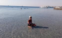 v moři