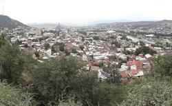 Tbilisi pohled od Narikkala