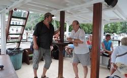 Lodní výlet okolo Thassosu - Pedro a já
