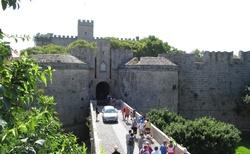 Hrad ve městě Rhodos